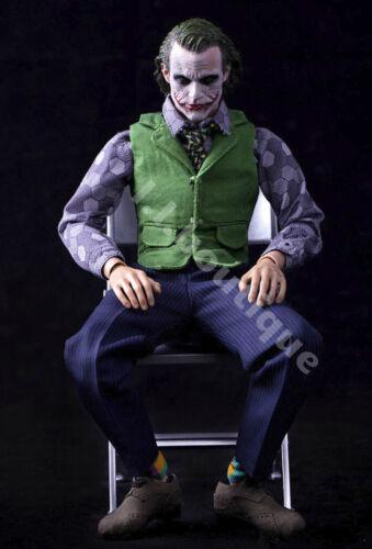 Custom 1//6 Scale Joker 2.0 Full Suit Set for Hot Toys 12/'/' Narrow Shoulder Body