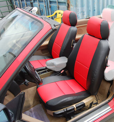 BMW 3 SERIES 318 320 323 325 328 330 1992-1999 IGGEE S.LEATHER CUSTOM SEAT COVER