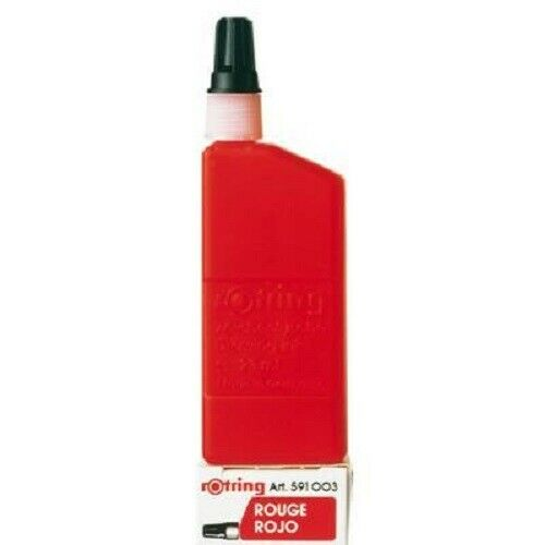 Isograph Coloured Drawing ink for Technical Pens or Nib Cleaner Rotring