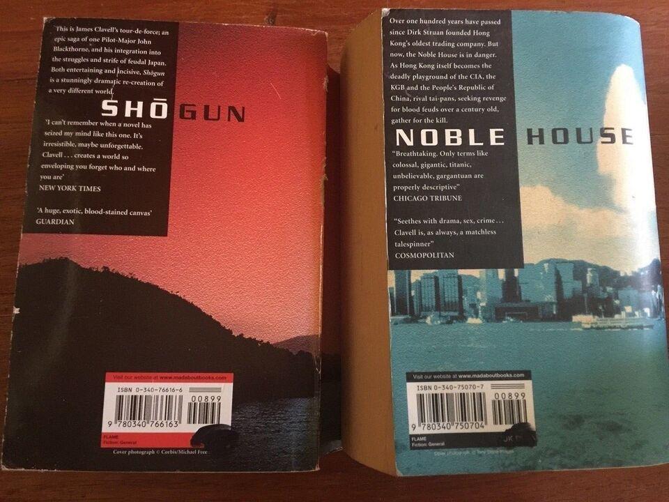 """""""Nobel House"""" """"Shogun"""", James Clavell"""