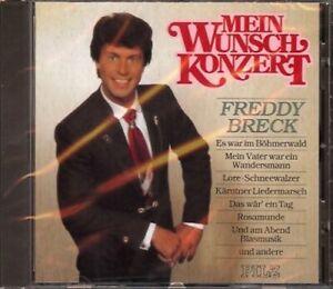 Freddy-Breck-Mein-Wunschkonzert-CD-Album-12-Tracks-1982-1991-Pilz