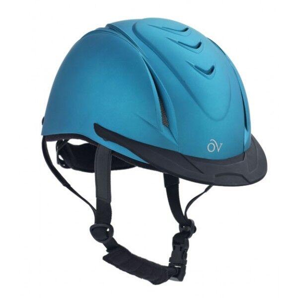 NEW Ovation Deluxe Schooler Riding  Helmet - XXSmall   XSmall, Metallic Teal  hot sale