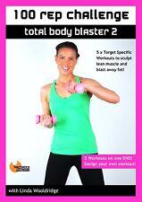 WORKOUT DVD Barlates Body Blitz 100 REP CHALLENGE TOTAL BODY BLAST 2 - 5 Workout