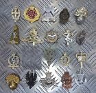 Genuine British Army Military Issue Metal Regimental Hat / Cap / Badges Asst