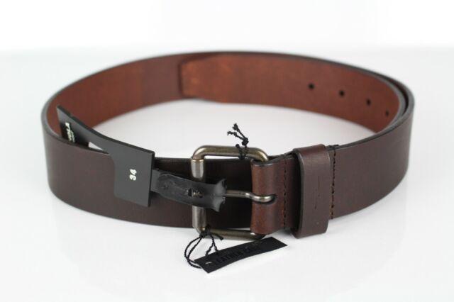 Sizes 34-52 Danbury Men/'s Brown Buffalo Leather 2-Hole Jeans Belt