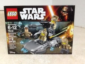NISB 75131 LEGO Star Wars Resistance Trooper Battle Pack