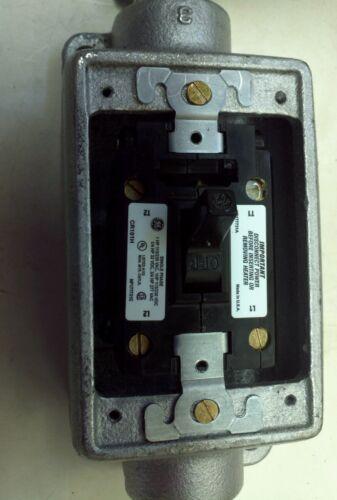 GE CR101H400H Manual motor starter