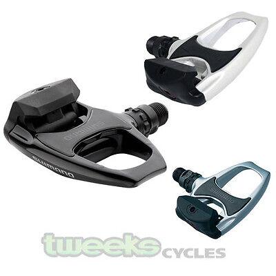 Shimano R540 Spd clip en vélo de route pédales avec crampons gratuit