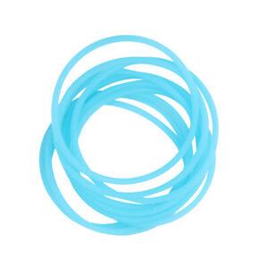 10pcs Elastische Silikon-frauen-mädchen \ 's Haar Seil Armband Armreifen - Warm Und Winddicht
