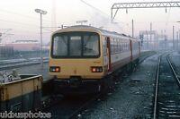 BRITISH RAIL 144007 Doncaster 1987 Rail Photo