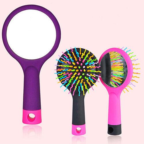 BE_ HK- Rainbow Comb Volume Brush Candy Tone Magic Hairbrush