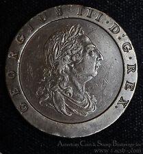 Great Britain 2P Pence 1797 EF/AU copper KM#619 George III Cartwheel Heavy.