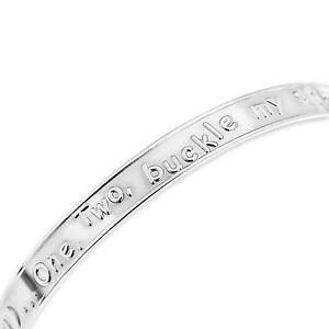 925 Fine Sterling Silver Baby Bangle Adjustable Christening Birthday Bracelet