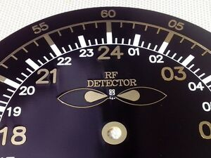 Details about 24 hour Elegant PCB Clock for your radio shack 24h  (Gold-plated PCB dial Only)