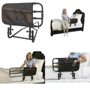Stander Ez Adjust Bed Rail For Elderly Adults Home Bed Railing