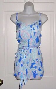 a360ad1fee52 Image is loading NWT-LILLY-PULITZER-BAY-BLUE-INTO-THE-DEEP-