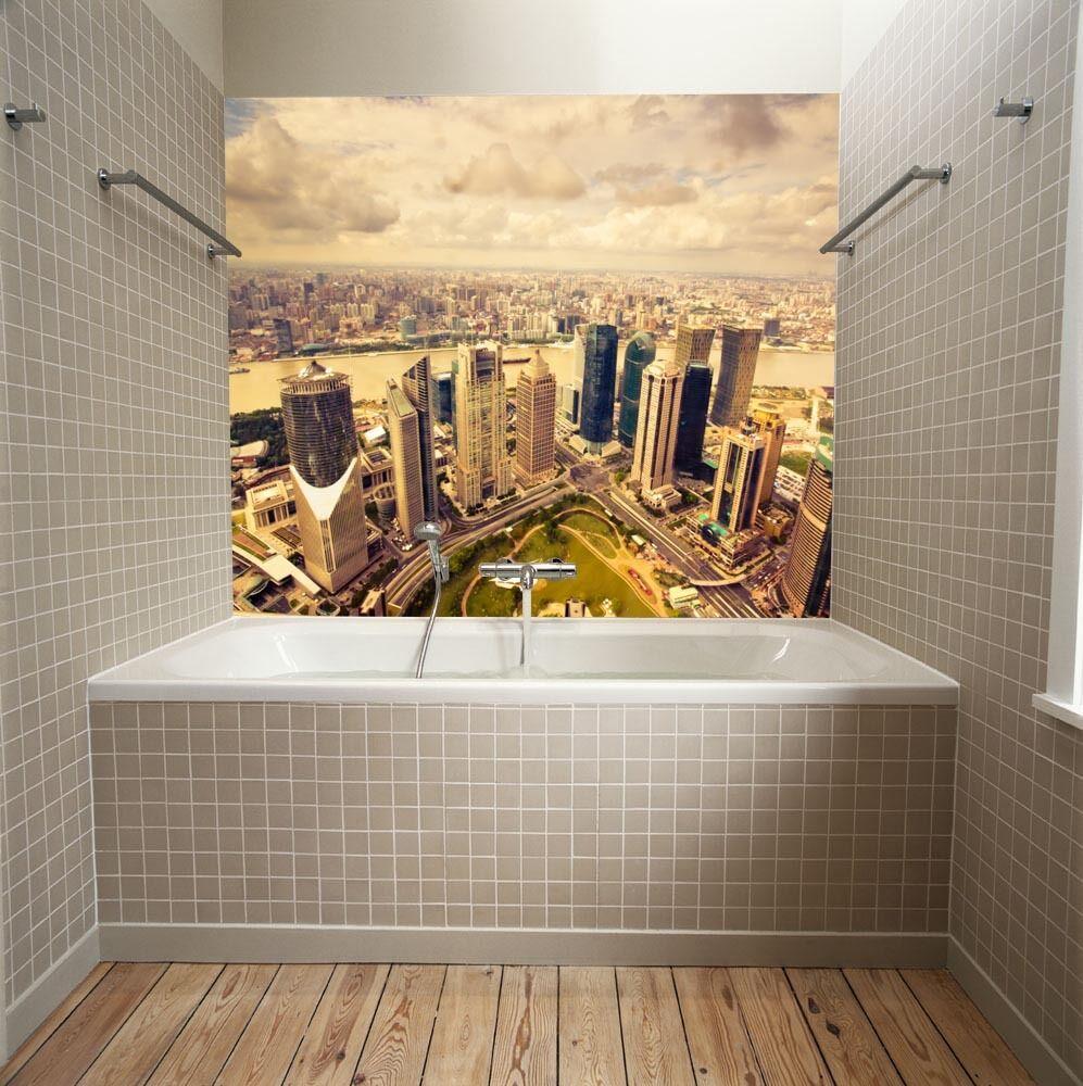 3D Grande Città 6 Parete Murale Foto Carta da parati immagine sfondo muro stampa