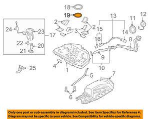 Groovy Mazda Oem 09 13 6 2 5L L4 Fuel Pump Assembly Seal Gs3L42165 Ebay Wiring Cloud Planhouseofspiritnl