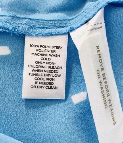 NWT LOFT Women $54.50 Confetti Tie Back Dolman Top Soft Cyan/_Size/_S/_M/_L