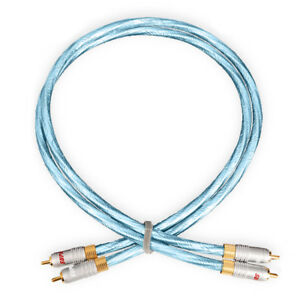 Supra-Cables-High-End-Rca-Rca-Cable-Sword-Isl-Anniversary-Rca-2-7-12ft-New