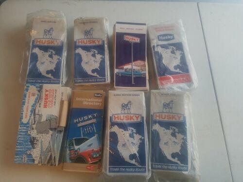 Vintage Husky Oil Highway Road Map Collection Lot