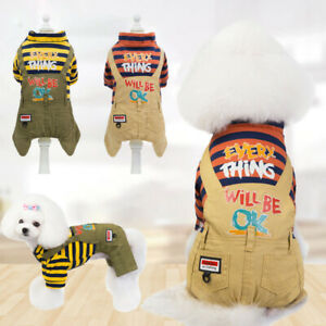 Pet-Cat-Dog-Jeans-Jumpsuit-Warm-Winter-Sweater-Coat-Puppy-Vest-Jacket-Clothes
