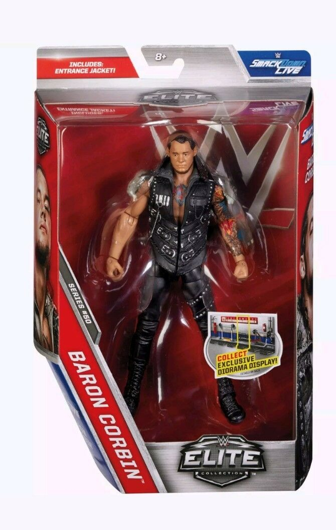 WWE MATTEL ELITE SERIES SERIES SERIES 50 BARON CORBIN THE LONE WOLF WRESTLING FIGURE BRAND NEW db7d13