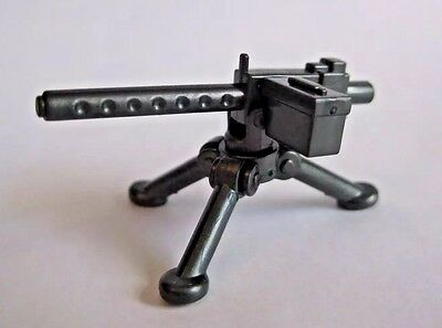 BrickArms M1919 Machine Gun for Custom Minifigures NEW WW2 Soldier TAN