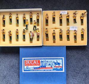 Ducal-26-Piece-USA-Army-Band-No-401-Yellow-Jackets-US-54mm-Metal-NIB-DEAL
