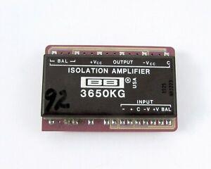 Burr-Brown-3650KG-Optically-Coupled-Lineal-Aislamiento-Amplificadores