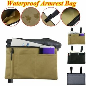 Waterproof-Wheelchair-Mobility-Scooter-Armrest-Pouch-Organizer-Phone-Storage-Bag
