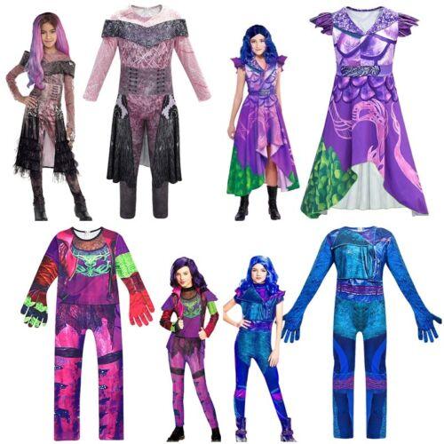 Descendants 3 Audrey Mal Costume Jumpsuit Christmas Cosplay Outfits Fancy Dress