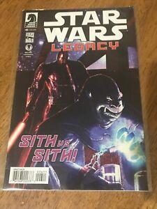 STAR WARS LEGACY COMIC BOOK #6 SITH VS SITH!