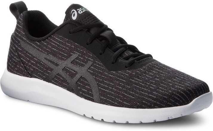 Asics Kanmei 2 Zapatillas para hombre Negro blancoo Zapatos tenis de correr 1021A011.001