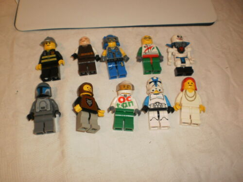 J1 Lego Figur Figuren 10 Stück
