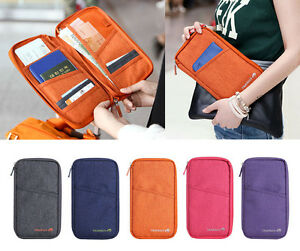 Travel-Passport-Credit-ID-Card-Cash-Long-Wallet-Purse-Holder-Case-Document-Bag