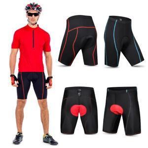 Mens Cycling Shorts,Padded Bicycle Riding Pants,Biking Clothes Bike Tights