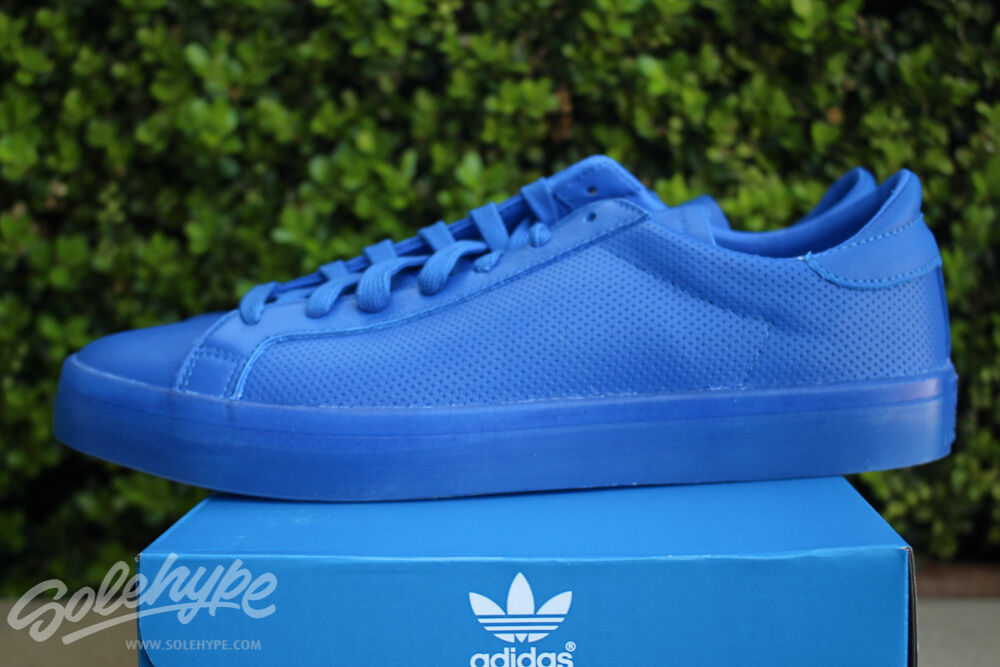 ADIDAS ORIGINALS COURTVANTAGE ADICOLOR SZ 9 blueE S80252