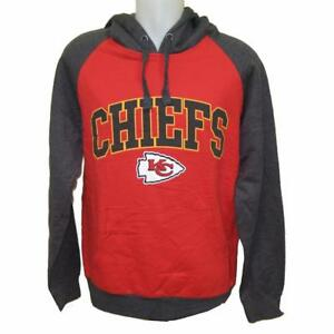 b8de0d0789cd Details about NFL Men s Kansas City Chiefs Hoody Sweatshirt Medium-3X Football  Apparel Hoodie