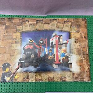 Lego-Harry-Potter-4708-INSTRUCTIONS-MANUEL-seulement-Poudlard-Express