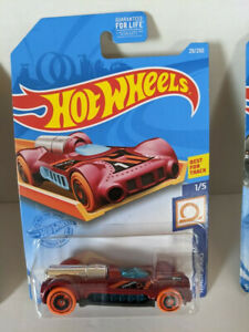 Hot Wheels HW Track Stars 1/5 - Red Retro-Active 29/250 - NEW! Unopened!