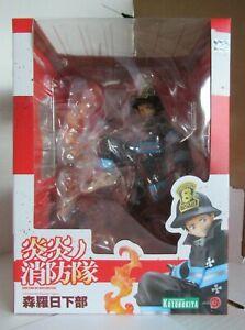 Authentic-Kotobukiya-ARTFX-J-Fire-Force-Shinra-Kusakabe-1-8-Scale