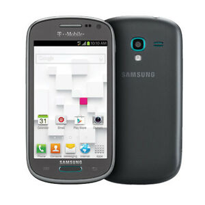 Samsung Galaxy Exhibit SGH T599 4GB Gray GSM Unlocked 4G LTE Android Smartphone