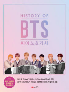 Details about K-Pop Sheet Music History of BTS Piano & Lyrics (MUSIC641)