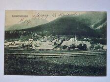 CAMPOROSSO Valcanale Tarvisio Udine vecchia cartolina