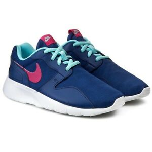 Girls Kaishi Nike comode blu Running Trainers taglia rosa Gym allenano Women scarpe Ladies w5Kp5qI