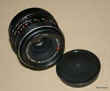 Carl Zeiss Jena Electric MC Flektogon 35mm f2.4 M42 Lens Serial No 4489