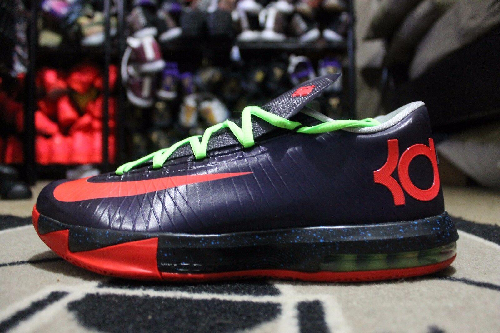 New Nike KD VI 6 Nike iD Nerf Purple neon White Size 11