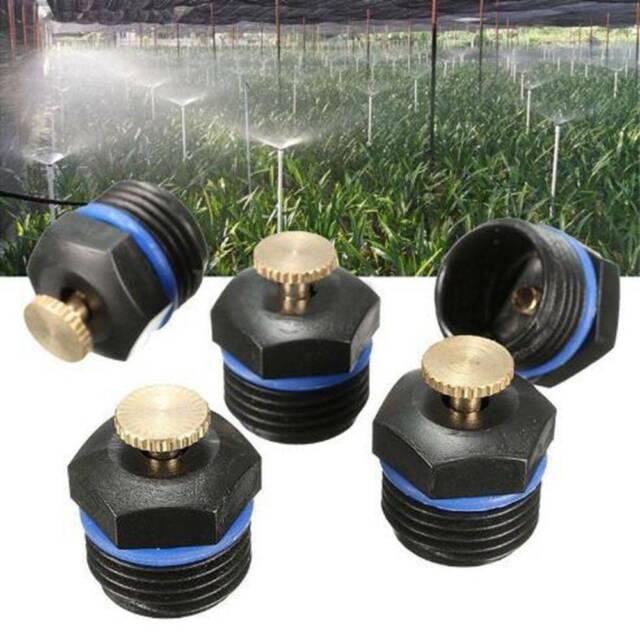 10*Yard Garden Fog Sprinkler Head Lawn Irrigation Spray Systems 16*25mm DN15 f