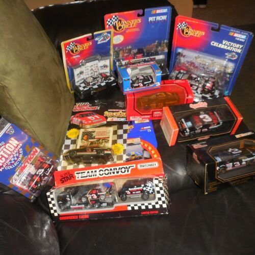 11 LOT DALE EARNHARDT NASCAR 143 & 164 MATCHBOX WINNERS CIRCLE REVELL ACTION +